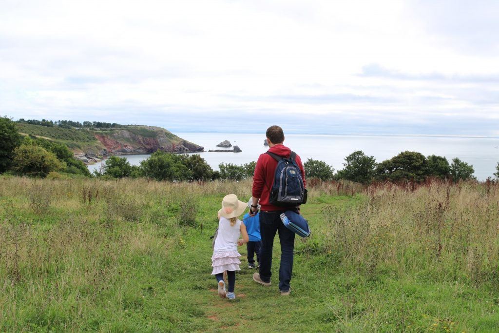 John Fowler South Bay Holiday Park Brixham Devon - Walk to St Mary's Cove