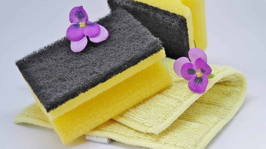 Washing up sponges - what to pack for a staycation holiday in the UK