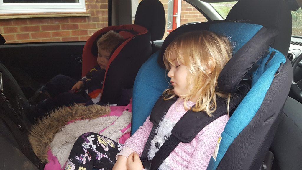 Car naps - sod's law
