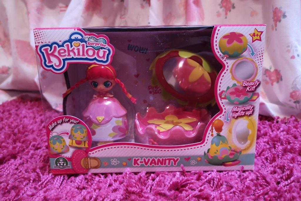 Kekilou collectible dolls mini vanity playset