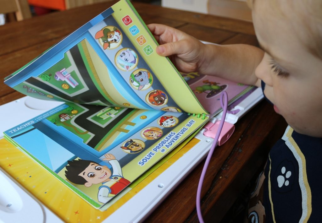 Leapfrog LeapStart 3D Paw Patrol Around Town game review