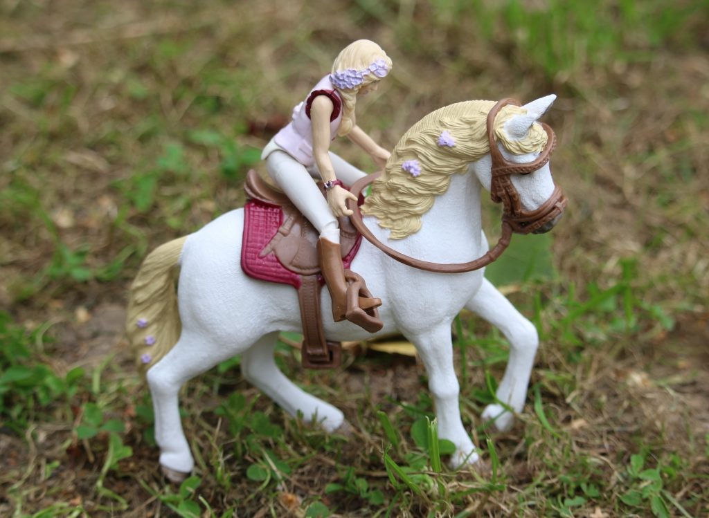 Schleich Horse Club horses and riders review Sofia and Blossom
