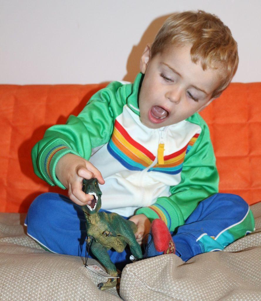 Schleich George at Asda Tyrannosaurus rex