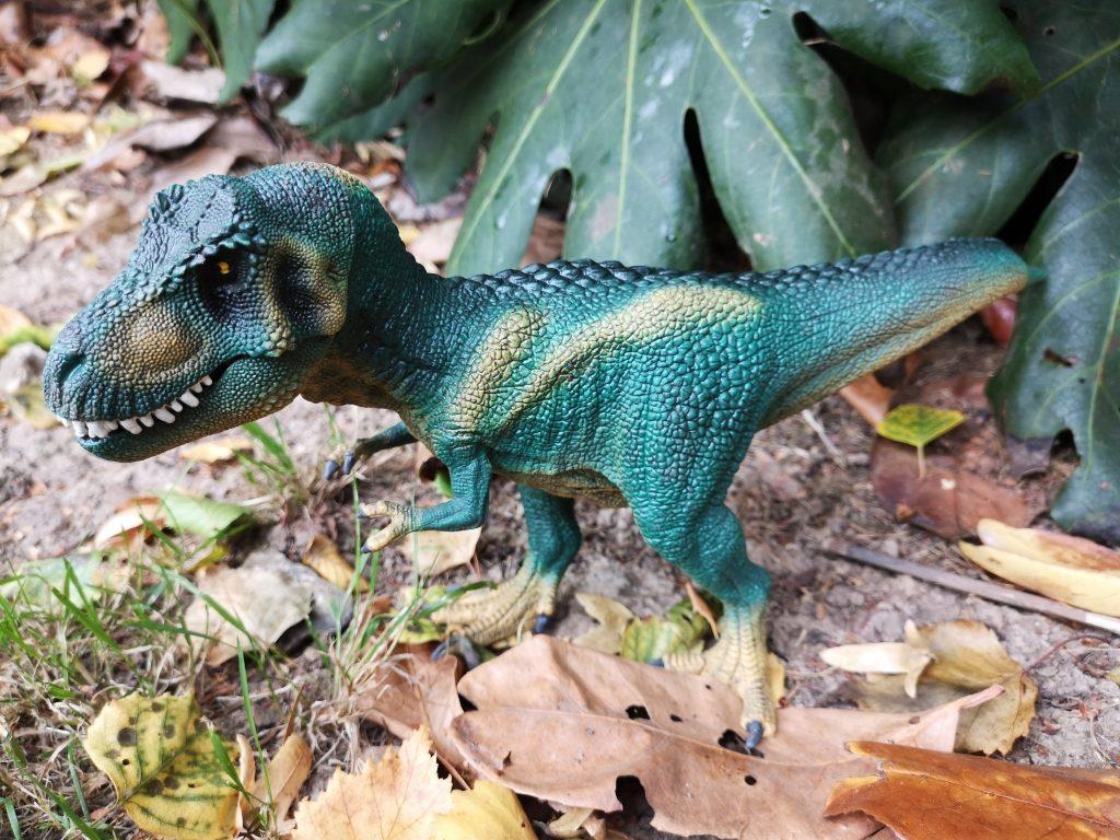Schleich at Asda T rex and Farm World starter set (48)