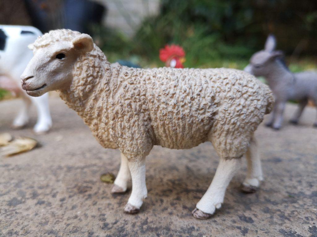 Schleich George at Asda sheep