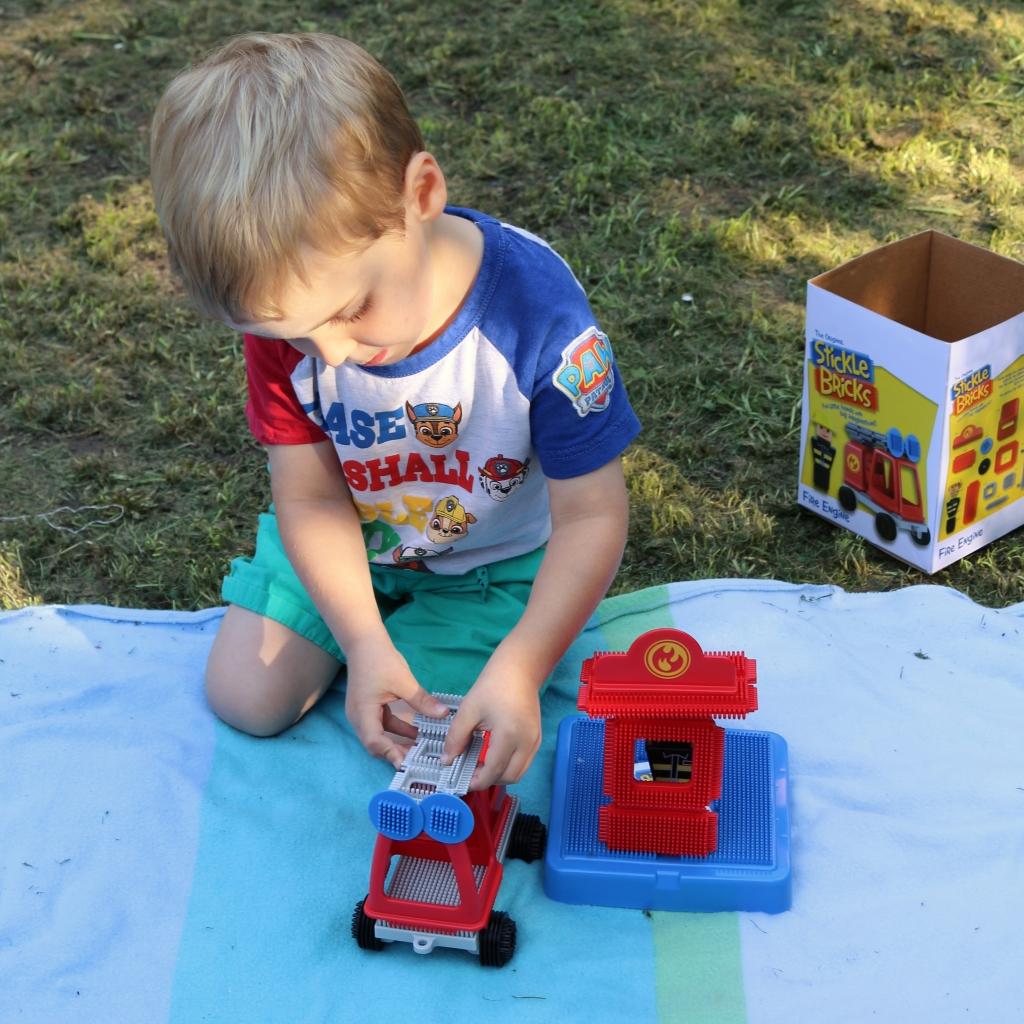 Stickle bricks review Fire Engine