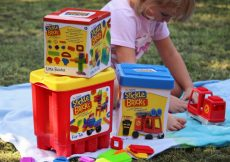 Stickle bricks review Fun Tub