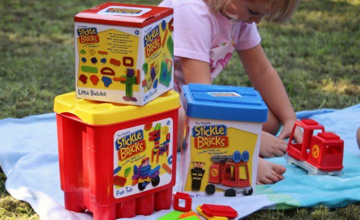 Stickle bricks review Fun Tub