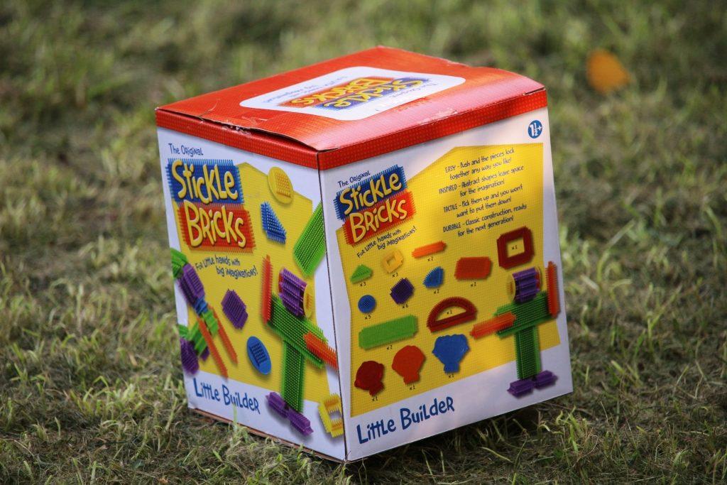 Stickle bricks review Little Builder