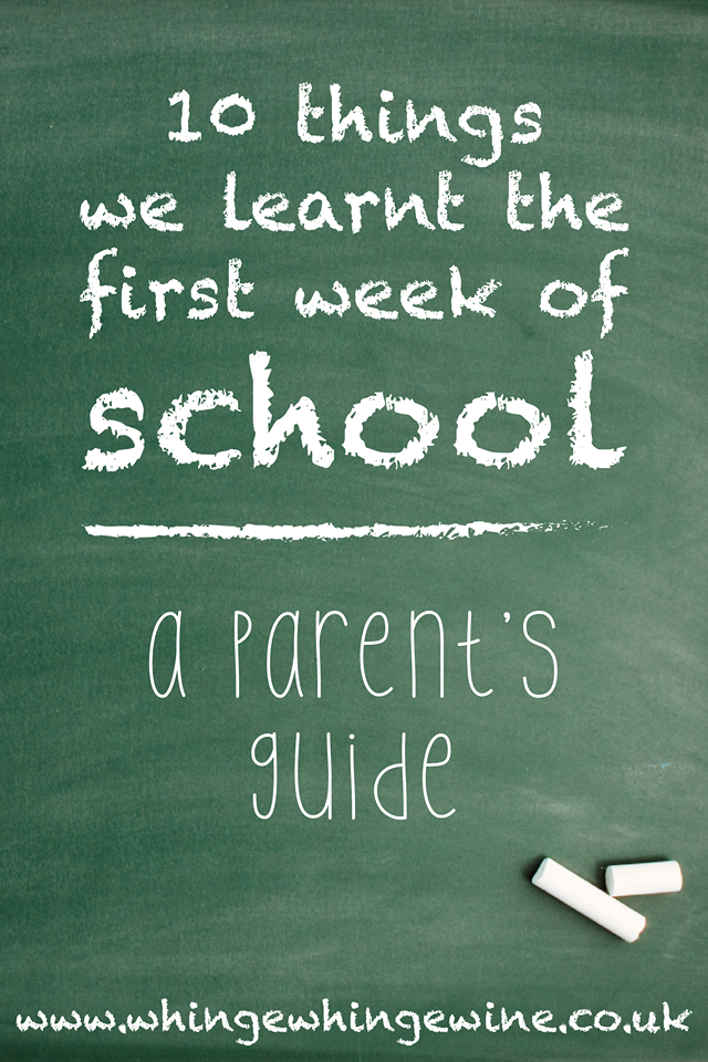 Ten things we've learned in the first weeks of primary school: A guide to what to expect when your four year old starting school #mums #school #primaryschool #startingschool #fouryearsold #firstschool #mumhumour