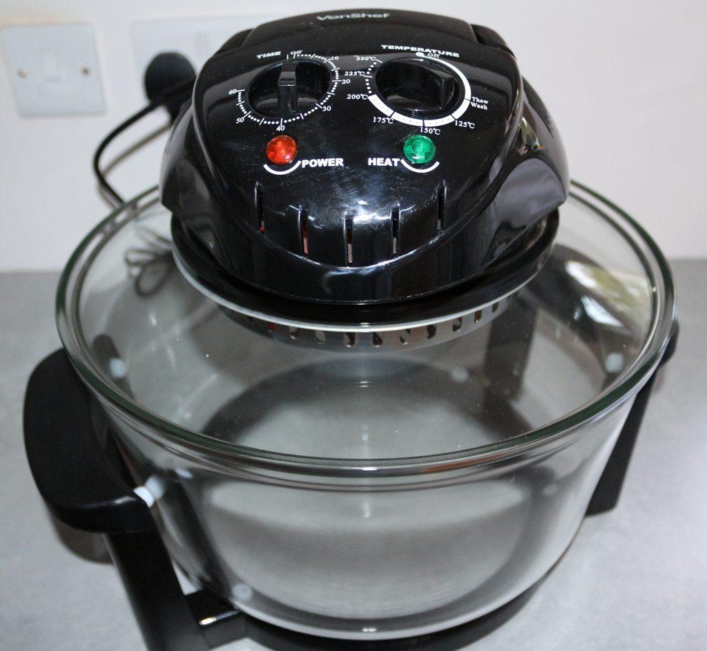 VonShef 12l Halogen Oven review (3)