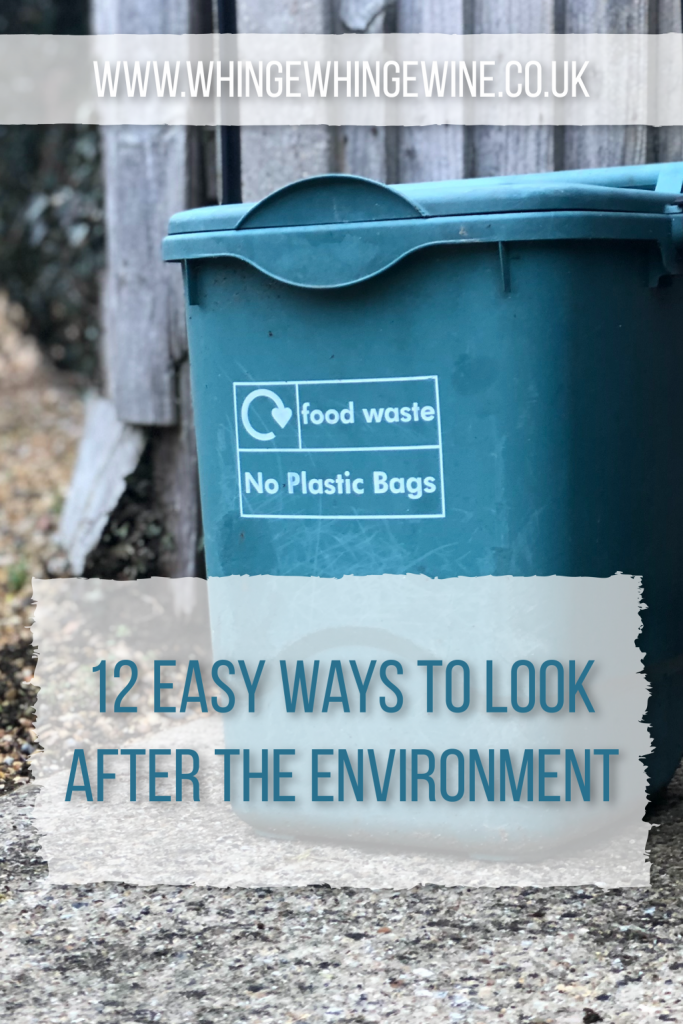 12 easy ways families can help look after the environment; tips for recusing your family's environmental impact quickly and easy