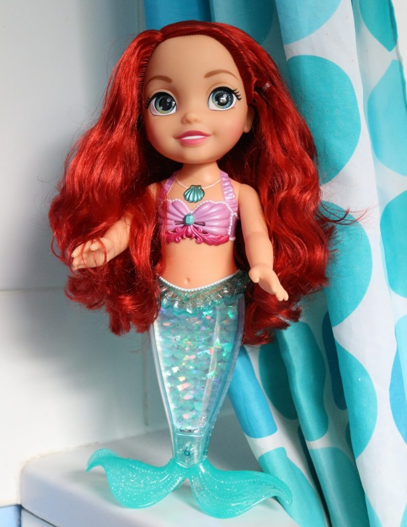 Ariel bath toy sing and swim review