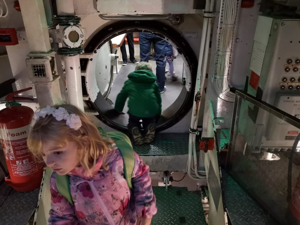 Chatham Historic Dockyard and Enchanted Garden review HMS Ocelot Submarine