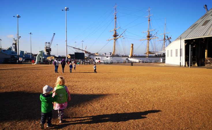 Chatham Historic Dockyard and Enchanted Garden review days out with children in Kent (10)