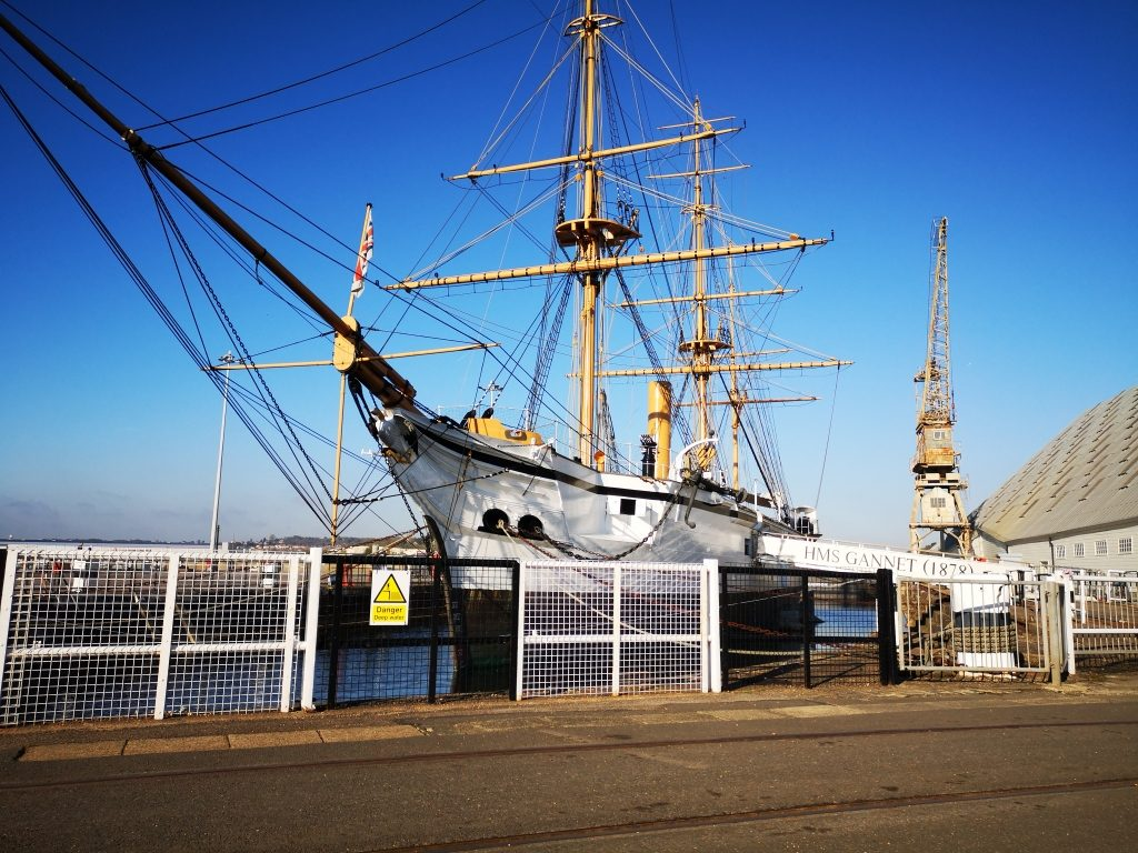 Chatham Historic Dockyard and Enchanted Garden review days out with children in Kent (11)