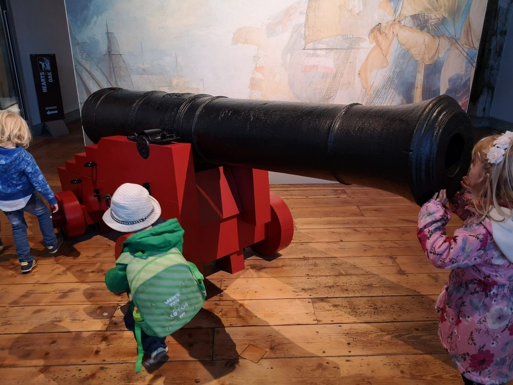 Chatham Historic Dockyard and Enchanted Garden review days out with children in Kent (15)