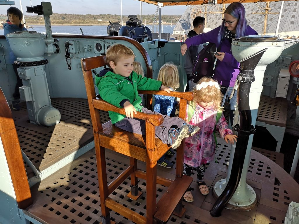 Historic Dockyard Chatham review and Enchanted Garden review days out with children in Kent (104)