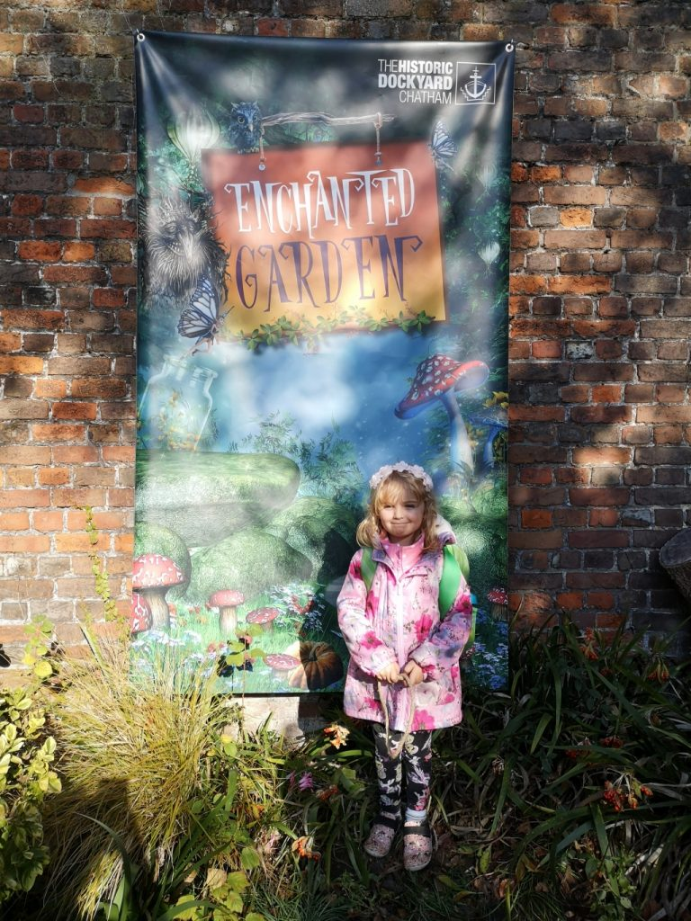Chatham Historic Dockyard and Enchanted Garden review days out with children in Kent Enchanted Garden
