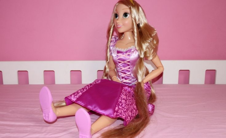 Disney Princess toys Playdate Rapunzel Tangled Jakks Pacific (120)