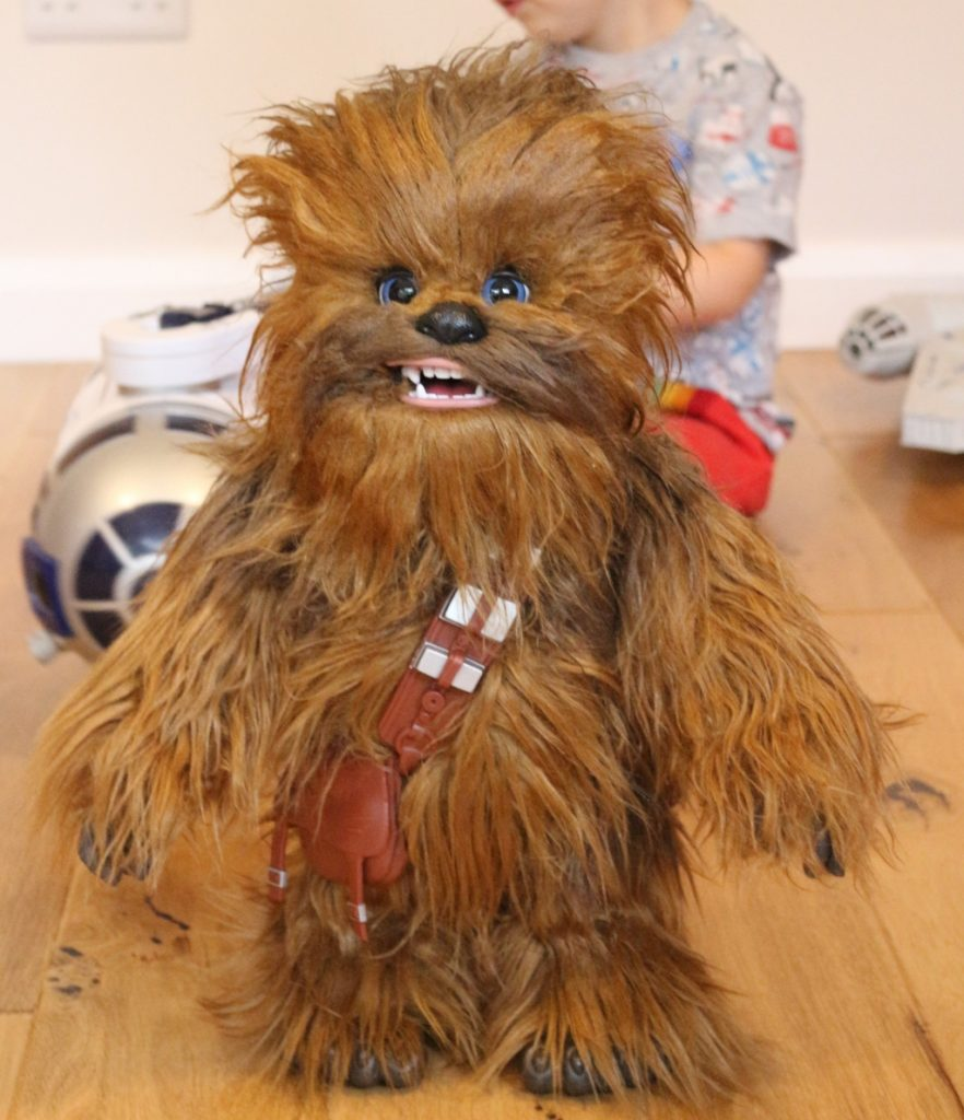 FurReal Hasbro Chewie Ultimate Co-Pilot review (281)
