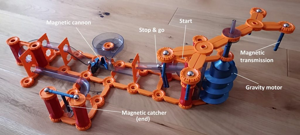 Geomag Mechanics Gravity magnet track and shoot and catch set review (27)