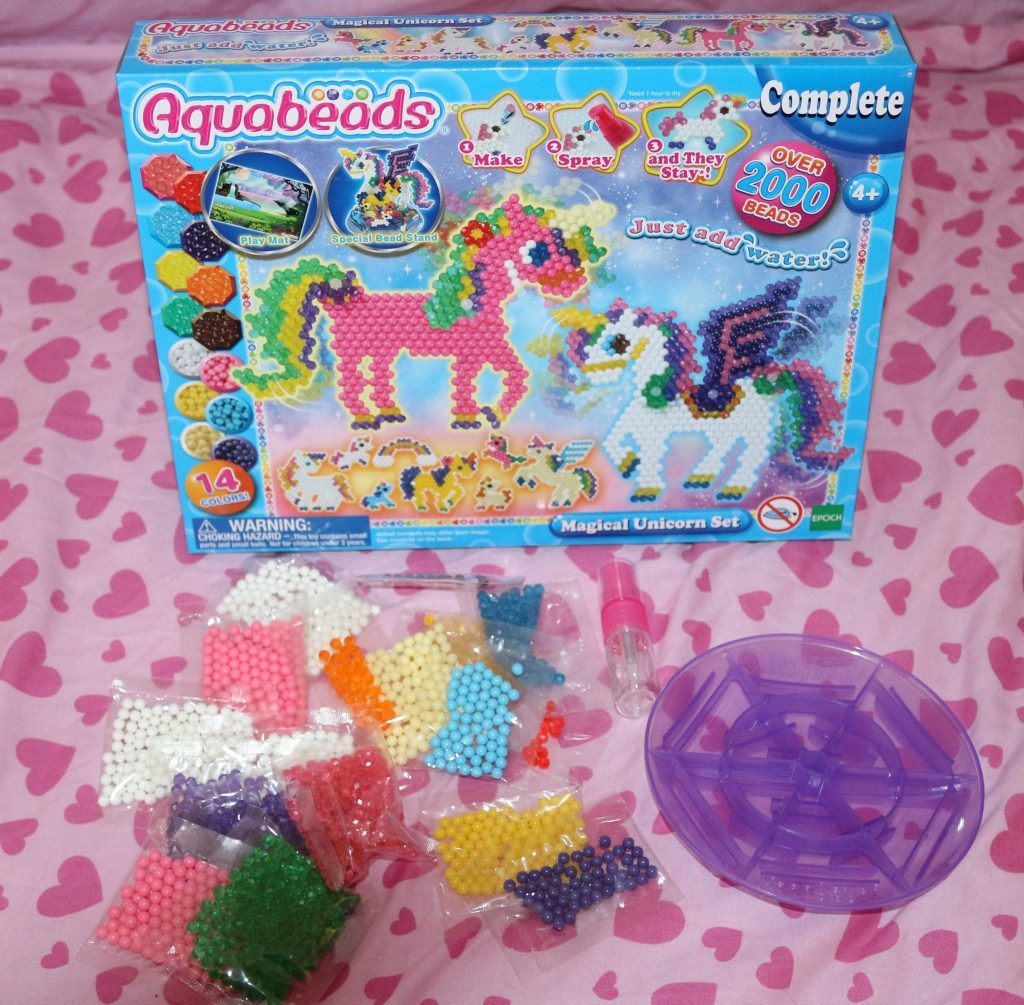 Gift Guide for five year old birthday present ideas- Aquabeads