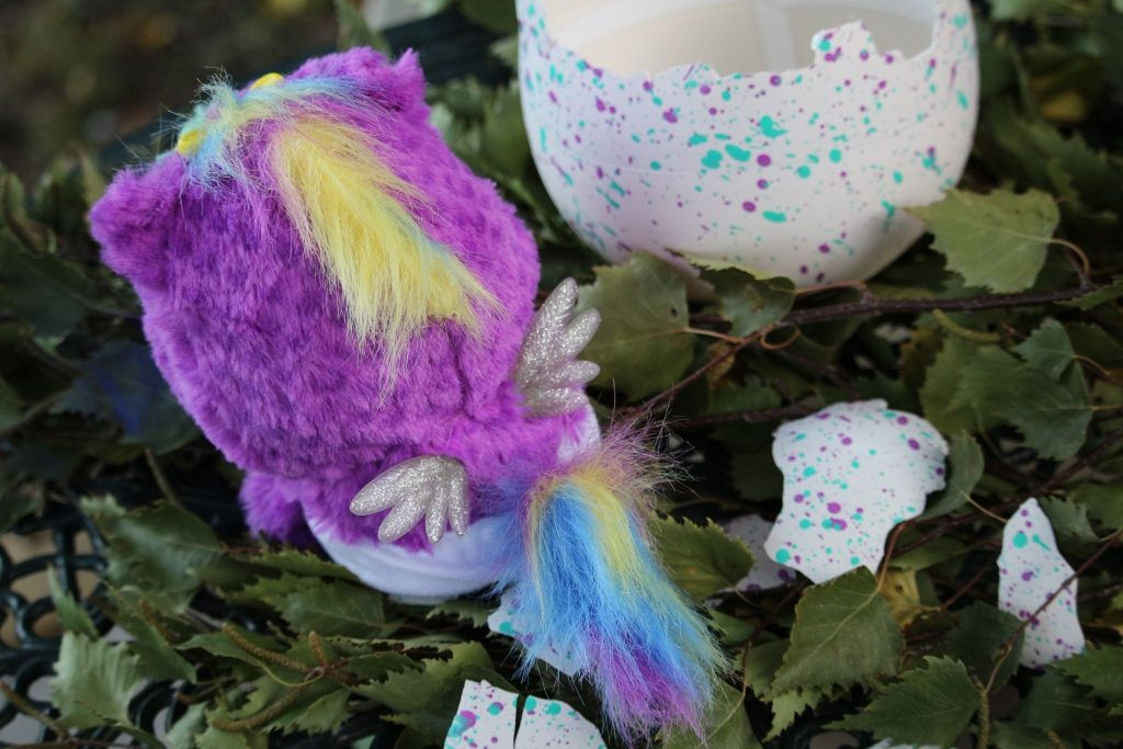 Hatchimals Hatchibabies review 1 Ponette fluffy tail