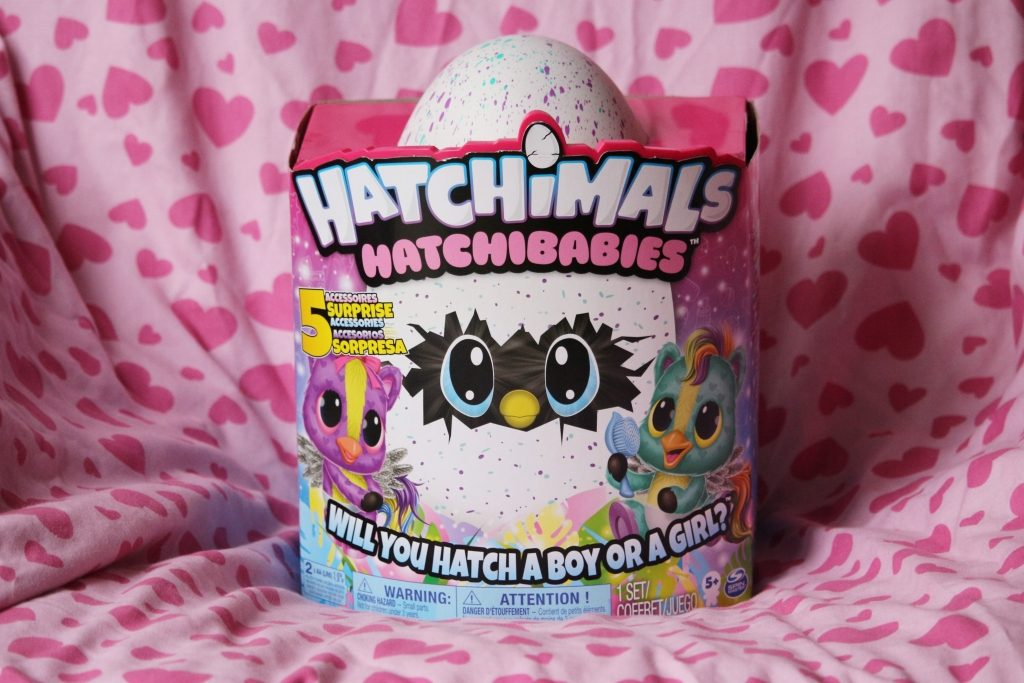 Hatchimals Hatchibabies review - box