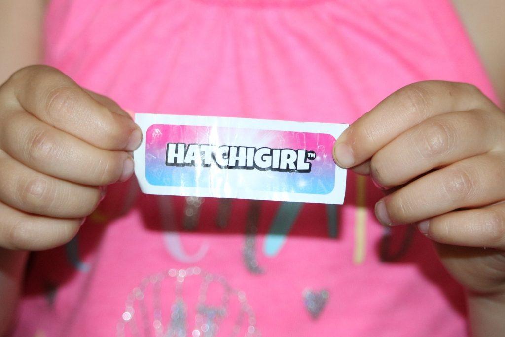 It's a HatchiGIRL!