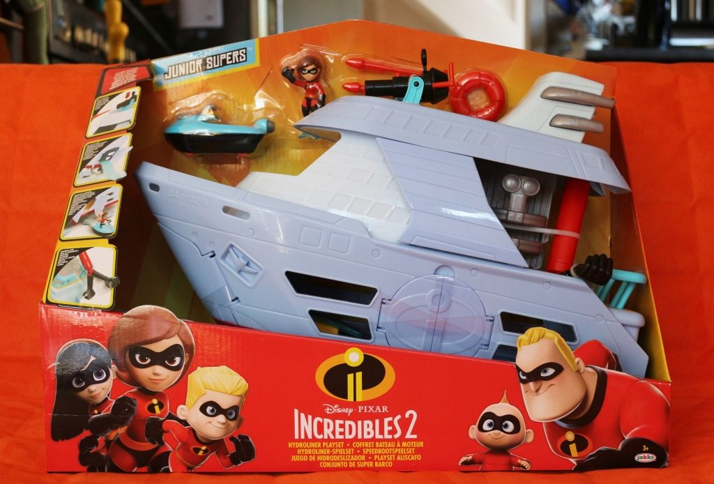 Incredibles 2 Hydroliner boat playset review (64)