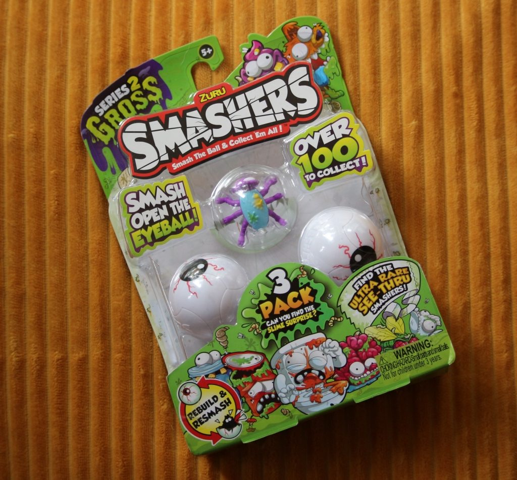 Smashers Series 2 GROSS collectibles ZURU toys triple pack