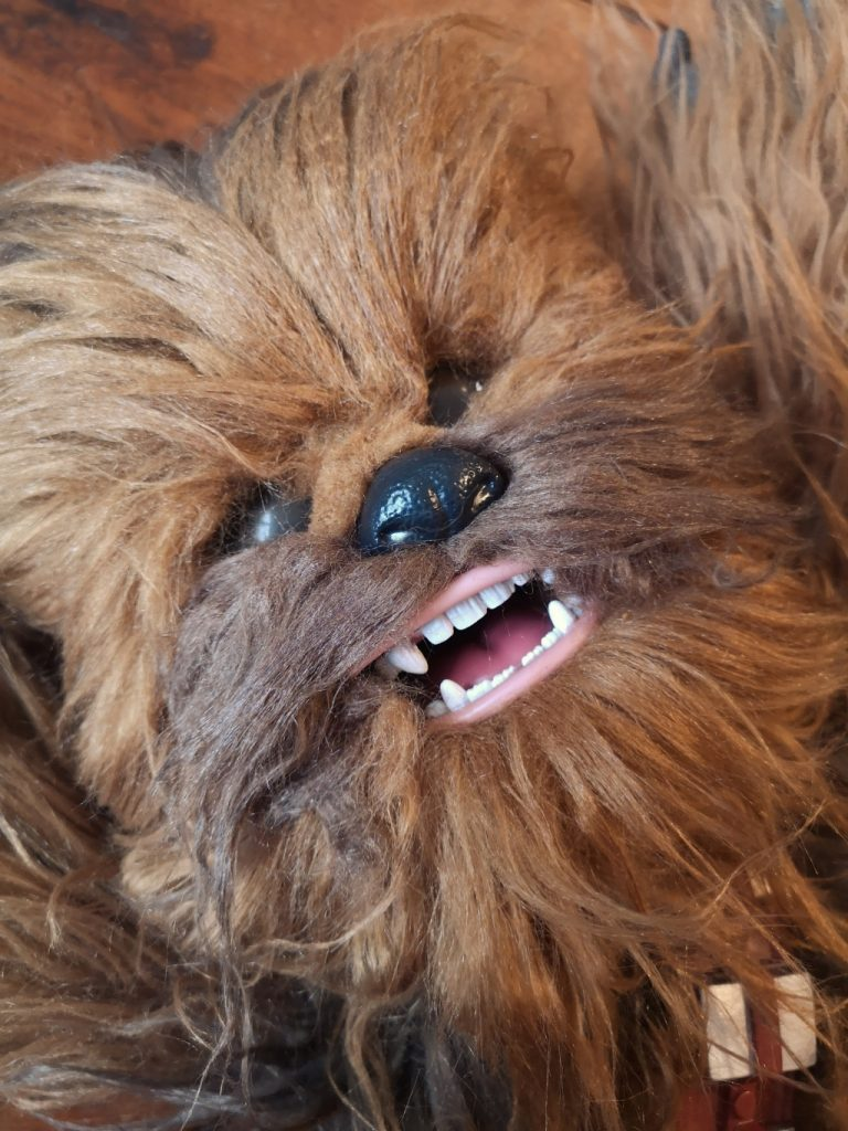 Snoring chewbacca toy review