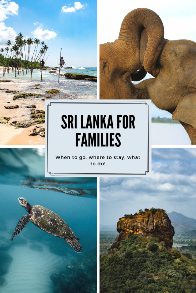 Sri Lanka for Families: Why you should book a family holiday to Sri Lanka with the kids. Sri Lanka with children. When to visit, what to do, where to stay, things to consider - vacation to Sri Lanka Asia to see the elephants and the turtles! #FamilyTravel #SriLanka