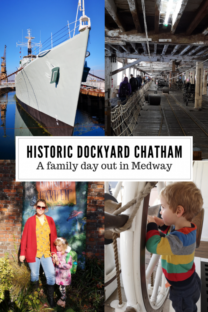 The Historic Dockyard Chatham is a great family day out in Medway/Kent. Climb aboard naval warships and visit the Victorian ropery, there's even a soft play. Filming location to Call the Midwife, home to warships HMS Ocelot, HMS Cavalier and HMS Gannet it was also the place the Victory was made. #Kent #Medway #FamilyTravel
