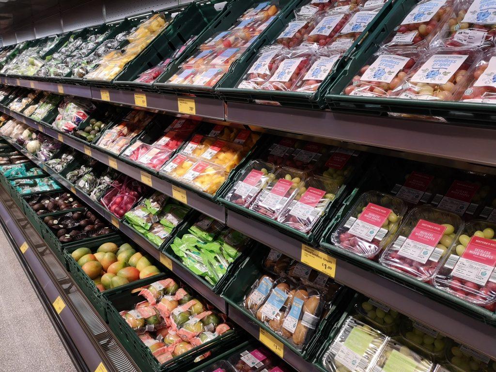 Aldi Tonbridge - Fruit and veg aisle