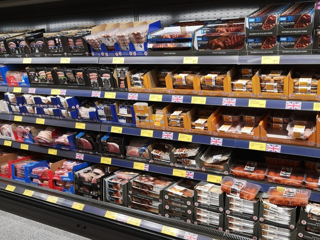 Aldi Tonbridge Meat ailse