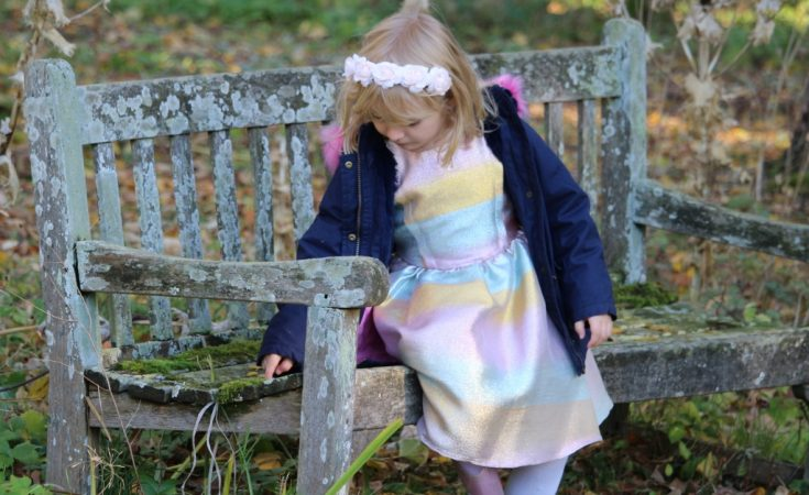 Boots Miniclub Fearne Cotton Autumn Winter 2018 rainbow dress