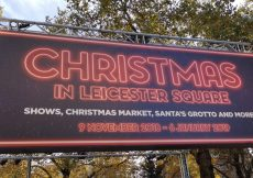 Christmas at Leicester Square things to do in London with families and children (42)