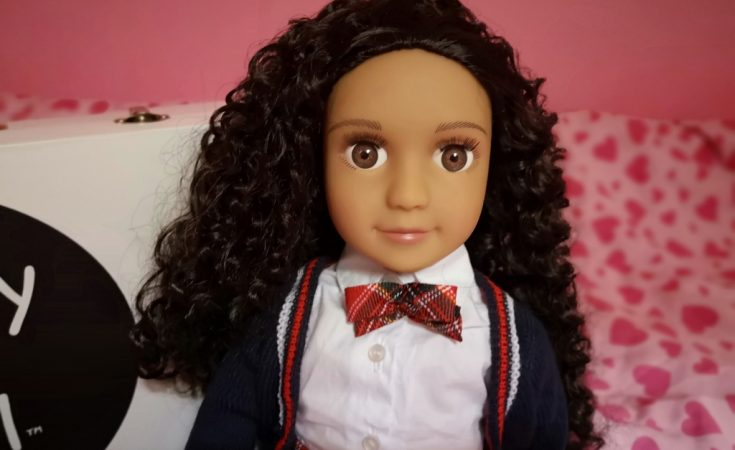 Darcy Curl - mixed race doll with curly hair (4)