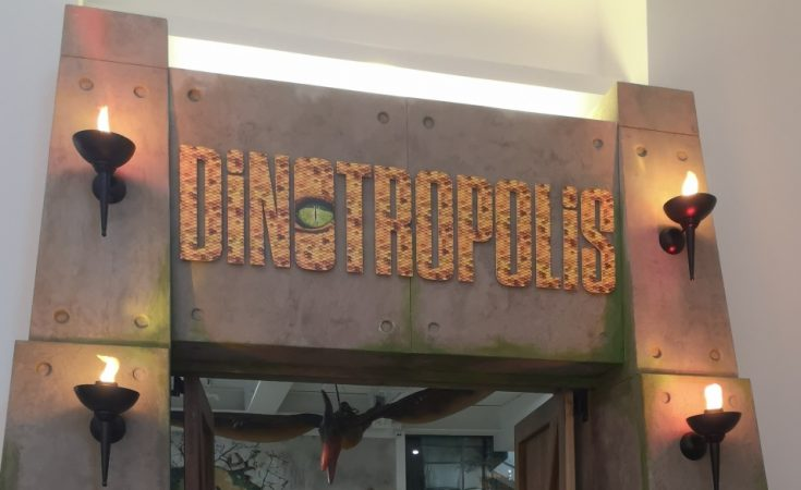 Dinotropolis Bluewater review Dinosaur Soft Play (57)