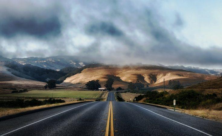 Empty road America