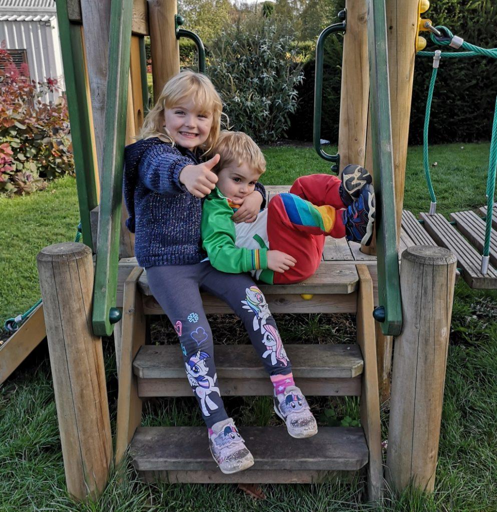 Siblings at broadview