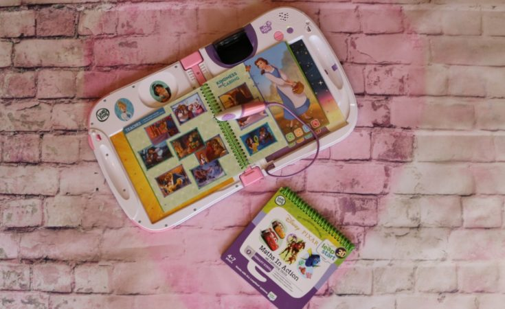 Leapfrog LeapStart 3D books Disney Pixar Maths in Action & Disney Princess Shine with Vocabulary review (65)