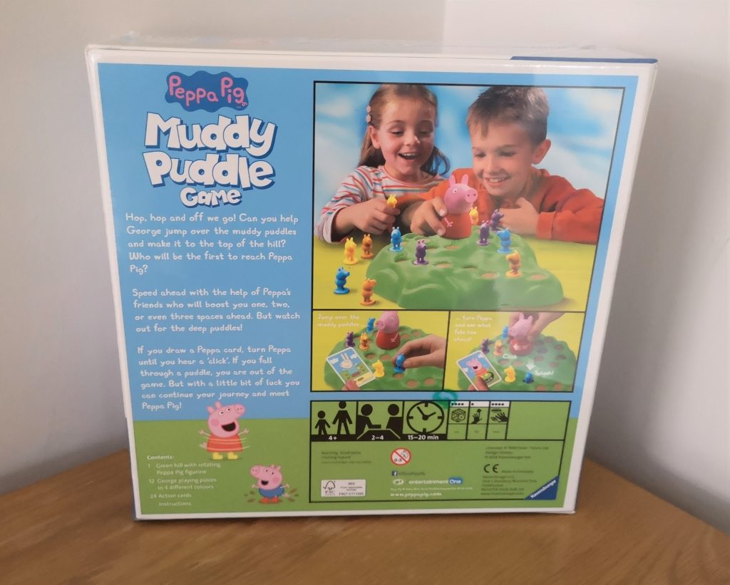 Peppa Pig Muddy Puddle board game review (3)