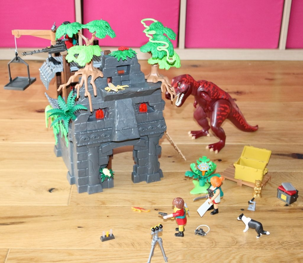 Playmobil Hidden Temple with T-Rex review (24)