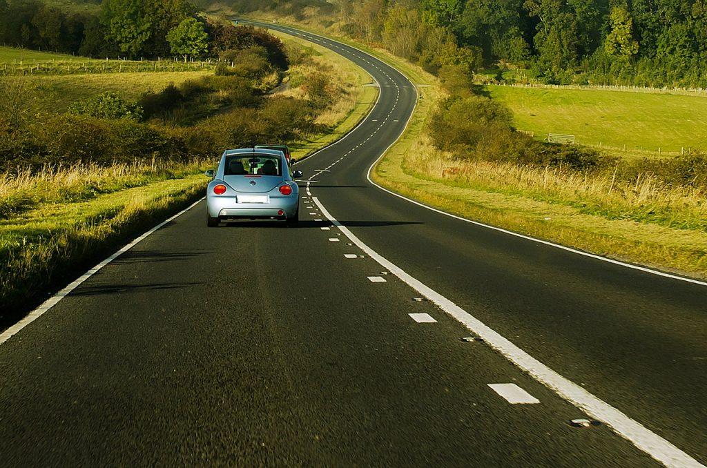 Empty road Yorkshire