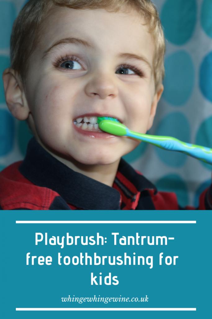 #AD Do your children hate brushing their teeth? Meet the Playbrush - a fun, tantrum-free toothbrushing app for kids #teeth #toothbrush #playbrush #parentingadvice #parentinghacks