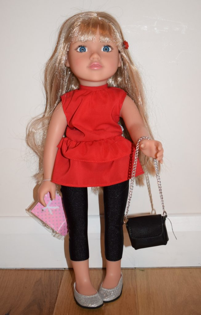 Argos Chad Valley Brooke Designafriend 18 inch fashion doll with handbag review