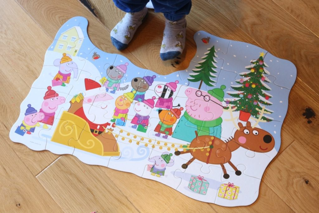 Christmas Jumper Day 2018 Save the Children Peppa Pig Puzzle